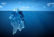 "Постер, картина, фотообои ""iceberg"""