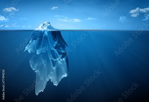 Tuinposter Zee / Oceaan iceberg