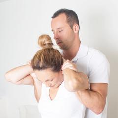 Chiropraktik mit Seniorin