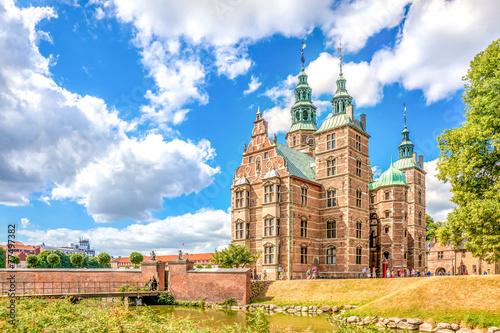 Staande foto Scandinavië Schloss Rosenborg, Kopenhagen