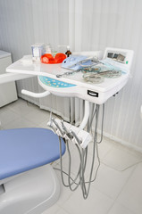 Dental office, medical equipment