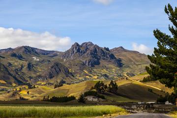 Paisaje de la sierra, Zumbahua, Ecuador