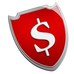 Dollar shield