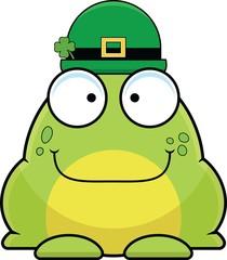 Cartoon Frog In Bowler Hat