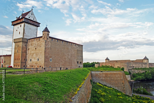Narva Castle and Ivangorod fortress