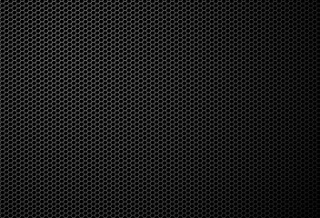 Black automotive grill texture