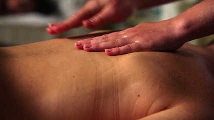 Female massage work