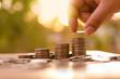 Leinwanddruck Bild - Hope of investor concept