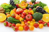 Fototapety 新鮮な野菜と果物
