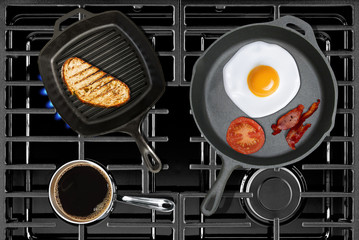 Cooking Classic Breakfast