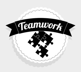 Teamwork design, vector illustration.