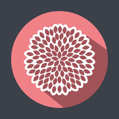 flower icon design