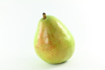 pear fruit in white background