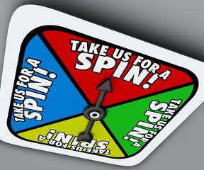 Take Us for a Spin Game Spinner Try Demo Trial Period Test