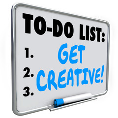 To Do List Get Creative Imagination Original Inventive Ideas