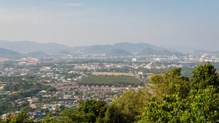 Landscape of phuket town, Thailand