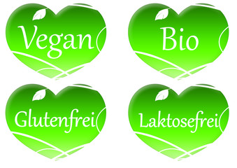 Vegan Herz - Heart