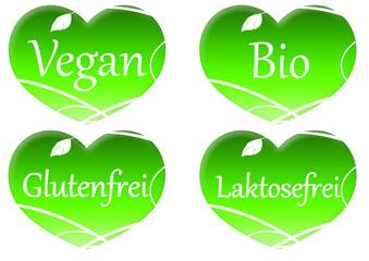 Vegan Herz - Heart