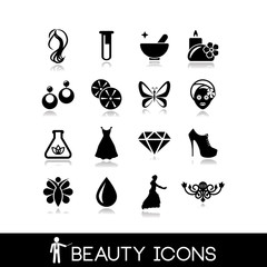 Beauty Icons Set 2