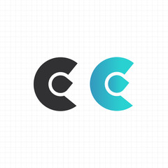 "letter ""c"" logo,icon,symbol vector design template"
