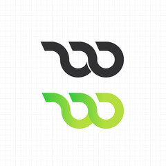 "letter ""w"" logo,icon,symbol vector design template"