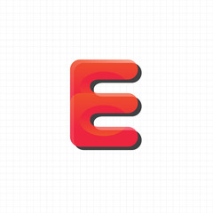"letter ""e"" logo,icon,symbol vector design template"