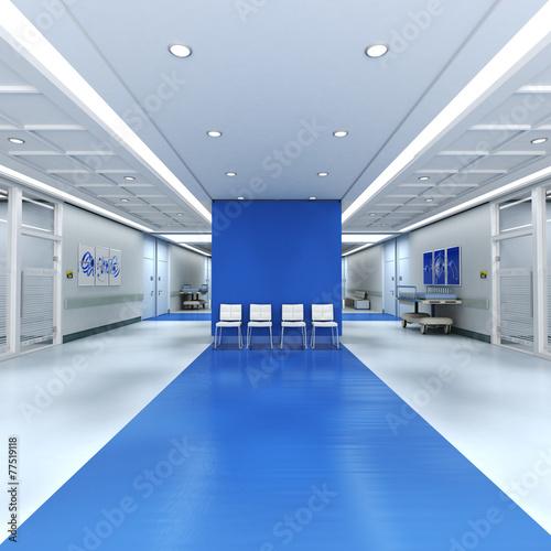 Hospital blue - 77519118