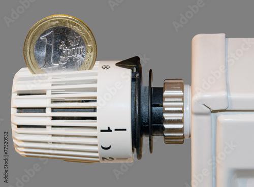 Leinwanddruck Bild Energie sparen 2