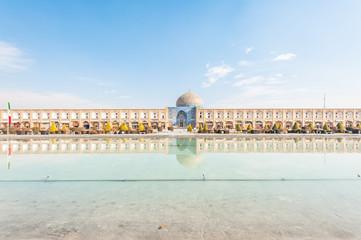 Naqsh-e Jahan Square in Isfahan, Iran