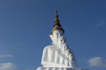 Big Buddha, Temple decorated ceramic bowl, Thailand