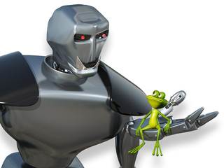 Robot and the Frog
