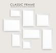 Zdjęcia na płótnie, fototapety, obrazy : Realistic picture frames. Perfect for your presentations.