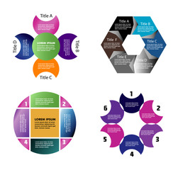 Infographic Design set
