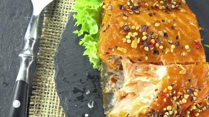 Smoked Salmon (seamless loopable)