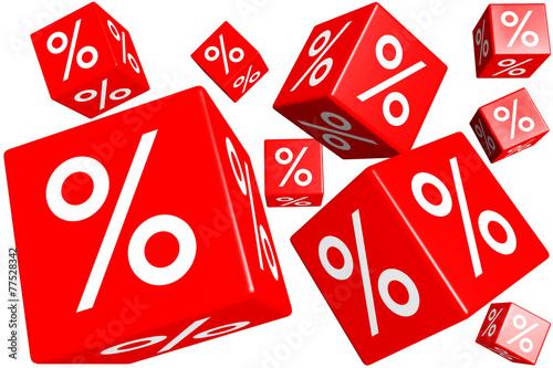 percent cubes - 77528342