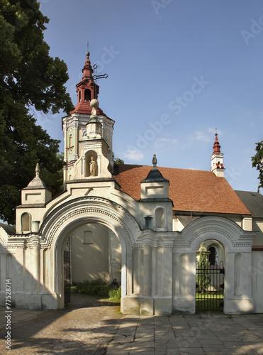 Church of St. Nicholas in Szczebrzeszyn. Poland - 77528714