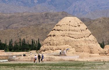 Western Xia tombs, Ninxia province of China