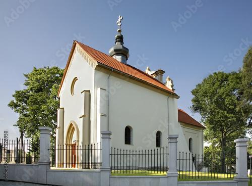 Church of the Assumption in Szczebrzeszyn. Poland - 77528950
