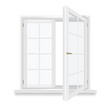 open window vector - 77529128