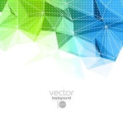 Abstract retro geometric background. Template brochure design