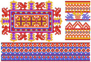 National  peoples shirts patterns