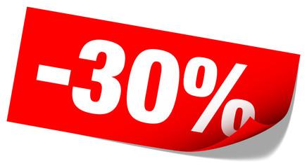 "Sticker Tag ""Sale"" -30%"