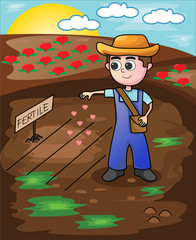 Little Farmer Seeding Love Seeds