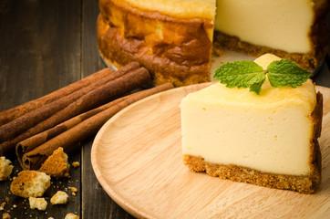 Cheese cake (New york cheese cake)