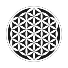 Flower of Life - Geometrical Pattern