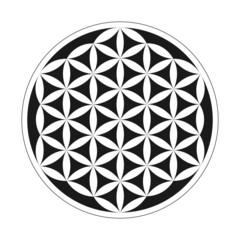 Flower of Life - Geometrical Pattern