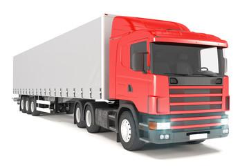 Truck - Red - Shot 03