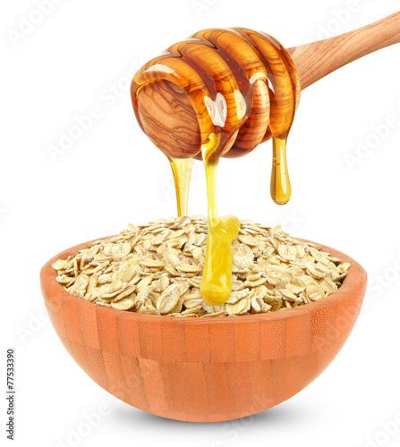 Aluminium Granen cereal with honey
