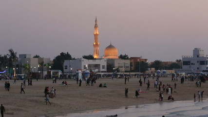 Jumeirah Beach at Sunset