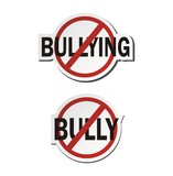 stop bullying, stop bully  - sticker sets poster